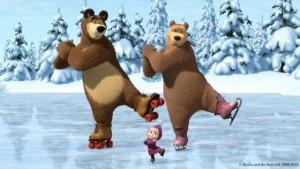 pohádka Máša a medvěd na ledě - skvělý zážitek