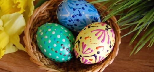 hotová velikonoční vajíčka