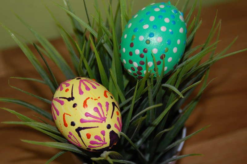 Velikonoční vajíčka - voskovky