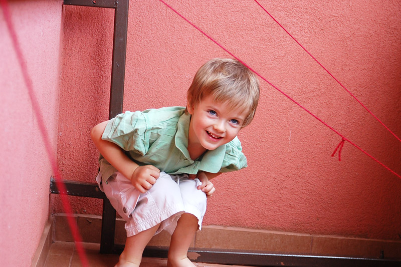 Přeskoč, přelez, podlez – aneb zábava na balkoně