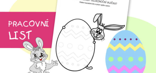 zajíc a velikonoční vajíčko