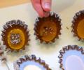 přisypeme kousky levandule nebo jiné ingredience dle vlastního výběru