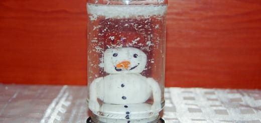 originální domácí sněžítko