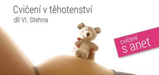 cvičení v těhotenství - posilování stehen