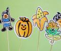 Hotová podzimní dekorace