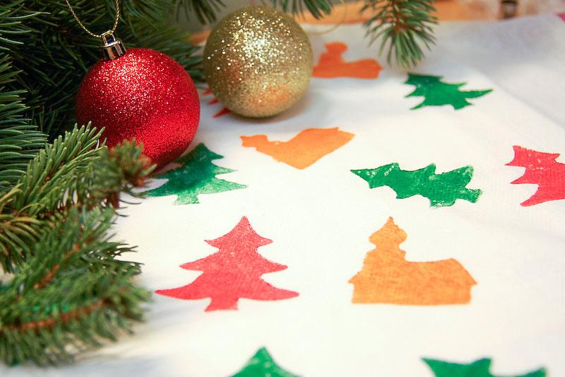 Originální vánoční utěrky