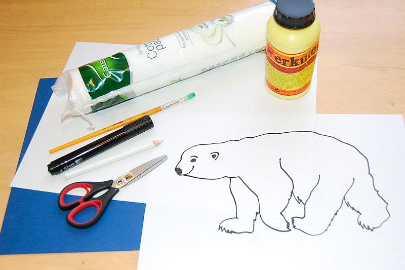 na ledního medvěda potřebujeme
