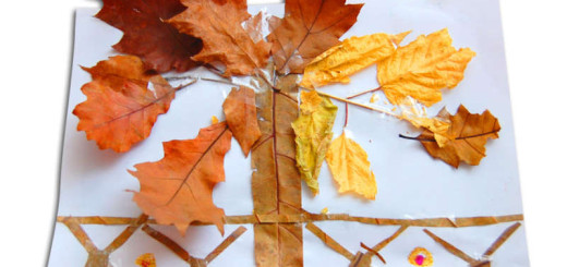 tvoříme z podzimních listů