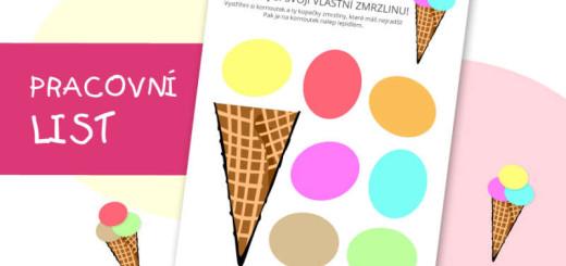 pracovní list - zmrzlina