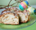 Velikonoční věnec s arašídovým máslem